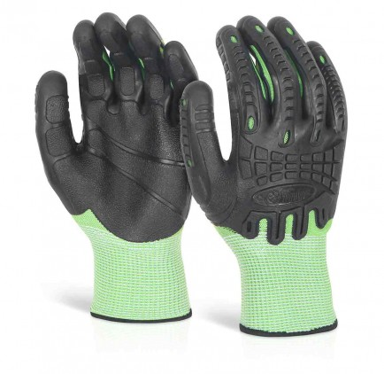 Glovezilla Cut Resistant Fully Coated Impact Glove Pair