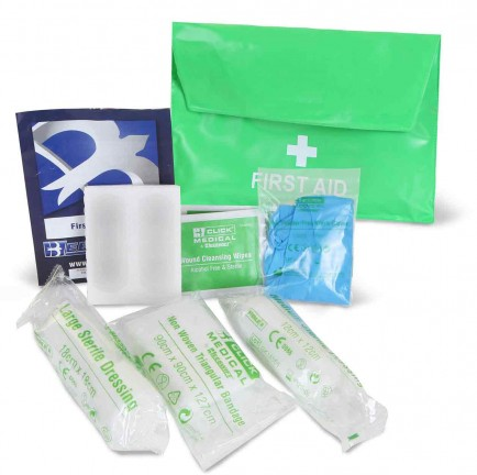Click Medical CM0004 Hse One Person Kit In Pvc Pouch