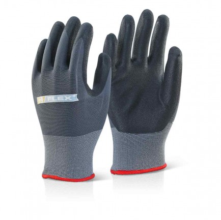 Click BF1 Nitrile PU Mix Coated Glove