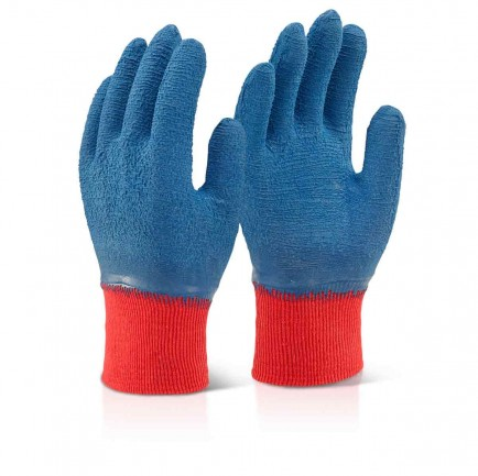 Click LFCGGB Latex Fully Coated Gripper Gloves