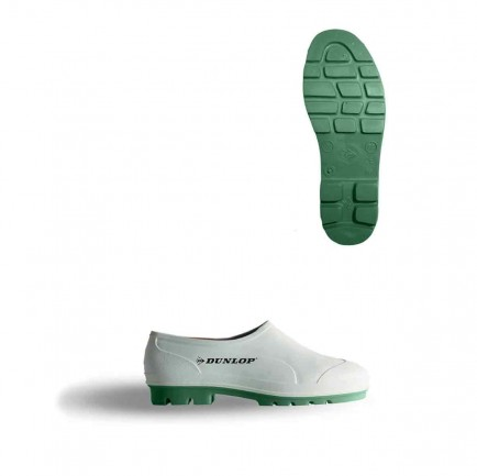 Dunlop WG White Wellie Shoe (8153BA)
