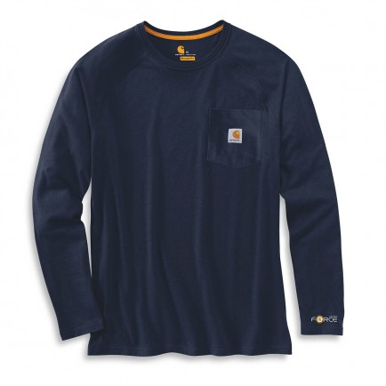 Carhartt 100393 Force Cotton Long-sleeve T-shirt