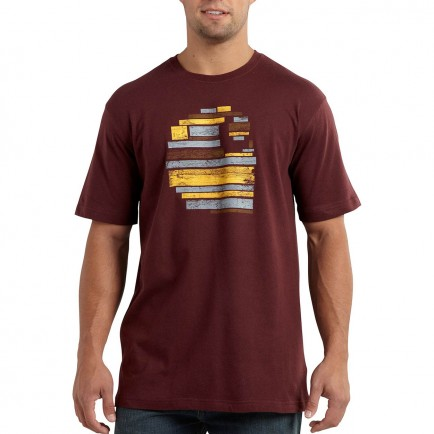 Carhartt Short Sleeve Wooden Graphic T-s