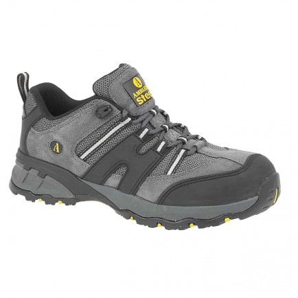 Amblers Steel FS188n Safety Trainer Grey/Black