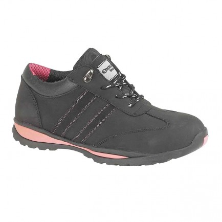 Footsure FS47 Ladies Black Shoe S1P