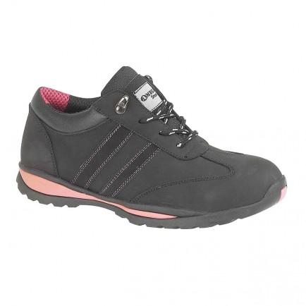 Footsure FS47 Ladies Black Shoe S1P
