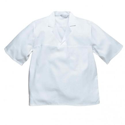 Portwest 2209 Bakers Shirt Short Slv.