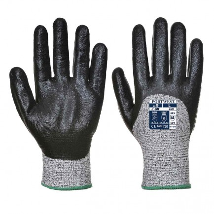 Portwest A621 Cut D 3/4 Nitrile Foam Glove