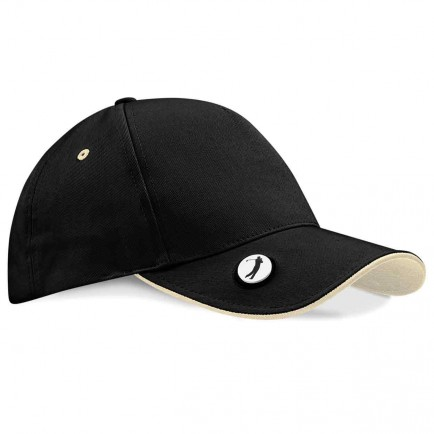 Beechfield BB185 Pro-Style Ball Mark Golf Cap