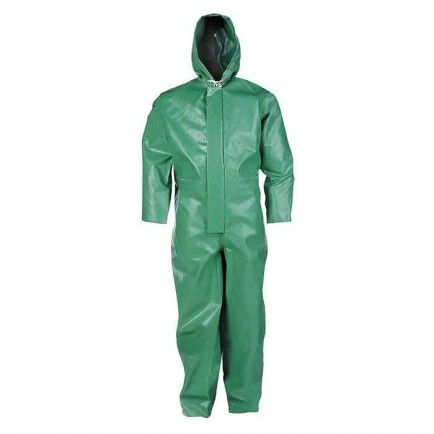 Sioen CCHG ChemTex Chemical Coverall Green