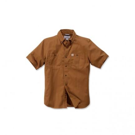 Carhartt 103555 Lw Rigby Solid S/S Shirt