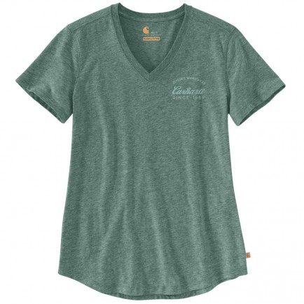 Carhartt 104227 Lockhart Graphic V-Neck T-Shirt