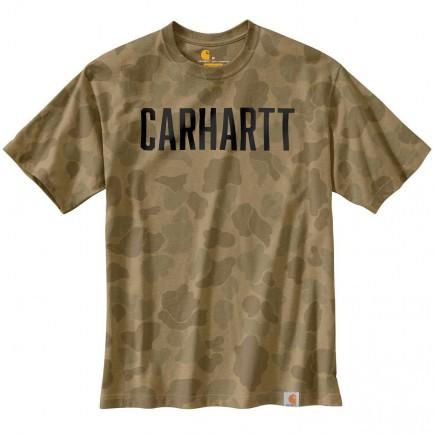 Carhartt 104346 Workwear Camo Block Logo S/S T-Shirt