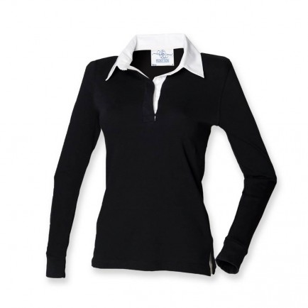 Front Row FR101 Ladies Classic Rugby Shirt