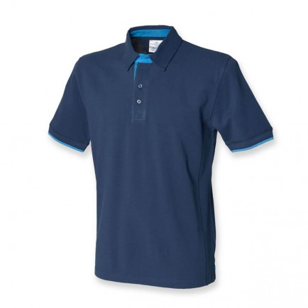 Front Row FR200 Contrast Pique Polo Shirt