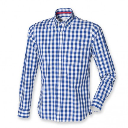 Front Row FR500 Checked Cotton Shirt