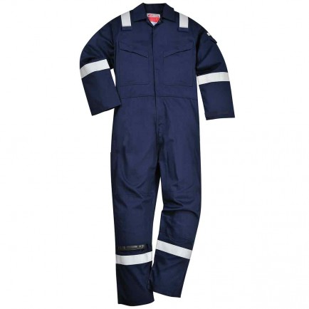 Portwest FR52 Padded Winter Anti-Static Coverall 350gm