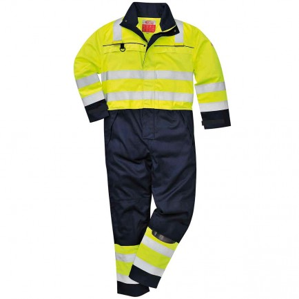 Portwest FR60 HiVis Multi-Norm Coverall