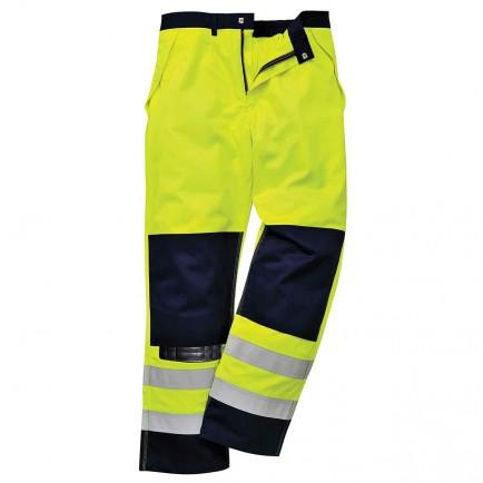 Portwest FR62 HiVis Multi-Norm Trousers