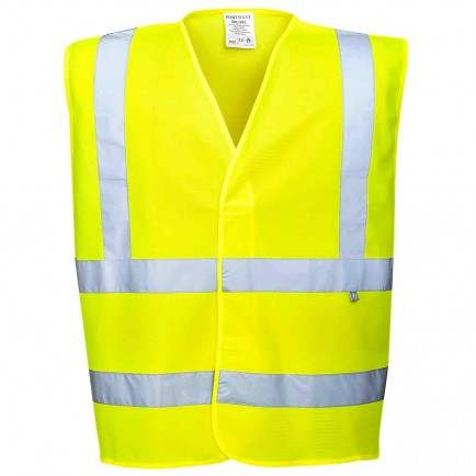 Portwest FR71 HiVis Anti Static Vest - Flame Resistant
