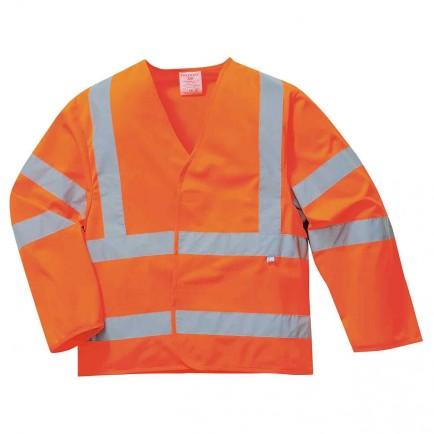 Portwest FR73 Hi-Vis Jacket - Flame Resistant