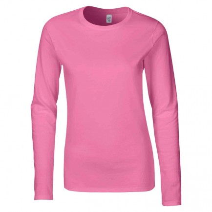 Gildan GD76 Ladies Softstyle Long Sleeve T-Shirt