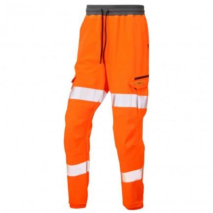 Leo Workwear Hawkridge Iso 20471 Cl 1 Jog Trouser