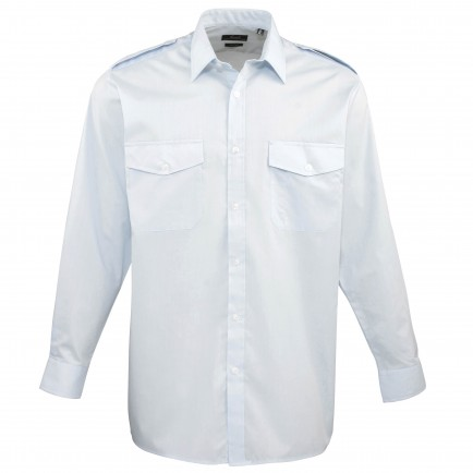 Premier PR210 Pilot Long Sleeve Shirt