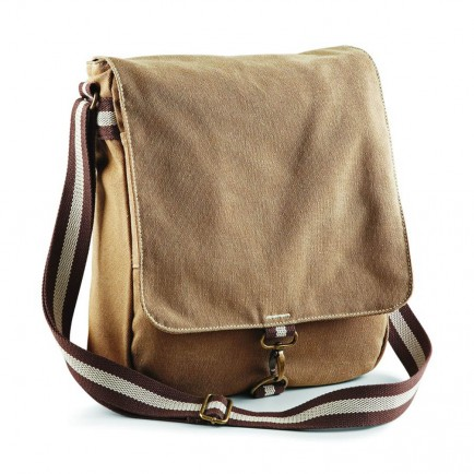 Quadra QD611 Desert Canvas Messenger Bag