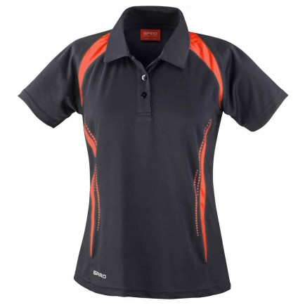Spiro SR177F Women's Team Spirit Polo