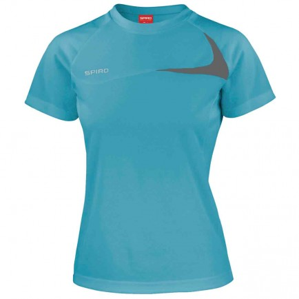 Spiro SR182F Women's Dash Training Shirt