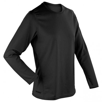 Spiro SR254F Women's Quick Dry Long Sleeve T-Shirt