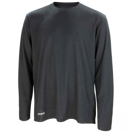 Spiro SR254M Quick Dry Long Sleeve T-Shirt
