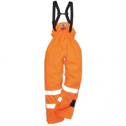 Portwest S781 Bizflame Rain Lined - Hi-Vis Antistatic FR Trouser