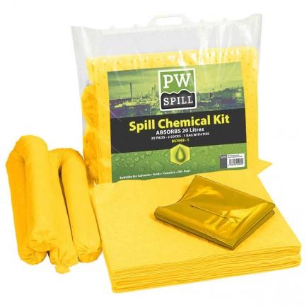 Portwest SM90 PW Spill 20 Litre Chemical Kit
