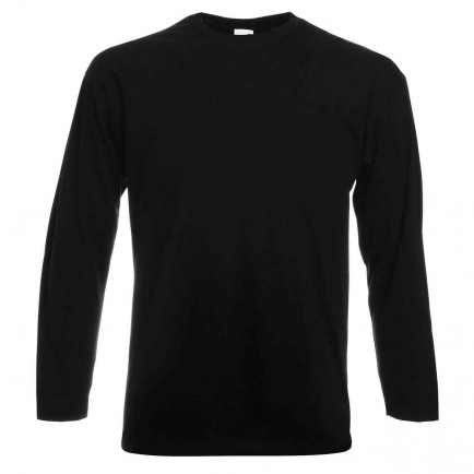 Fruit of the Loom SS21 Long Sleeve Value T-Shirt