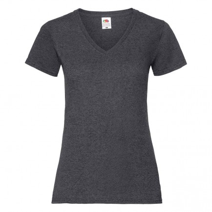 Fruit of the Loom SS702  Lady Fit Value V T-Shirt
