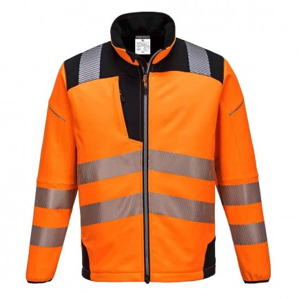 Portwest T402 Vision Hi-Vis Softshell Jacket