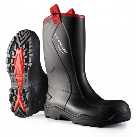 Dunlop C762043 Purofort+Rugged Full Safety Welly