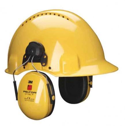 3M H510P3E-405-GU Peltor Optime 1 Helmet Attach Ear defenders