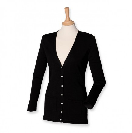 Henbury H723 Ladies Cardigan