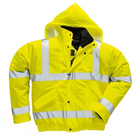 Portwest S498 Sealtex Ultra Bomber Jacket (Yellow)
