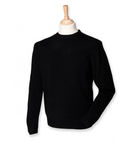 Henbury H735 Lightweightool Crew Neck Sweater