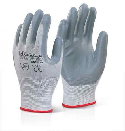 Click 2000 EC6 Nitrile Foam Poly Glove