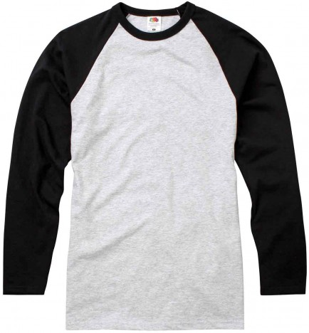 Fruit of the Loom SS32 Baseball Long Sleeve T
