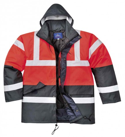 Portwest S466 Hi-Vis Contrast Traffic Jacket