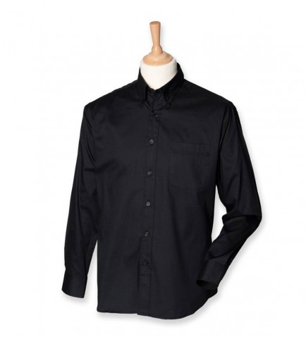 Henbury H550 Long Sleeve Oxford Shirt