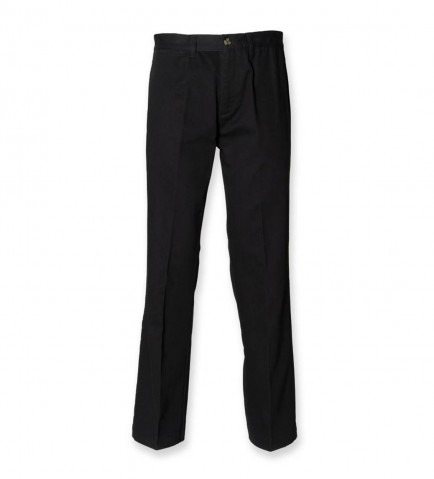 Henbury H608 Flat Fronted Chinos