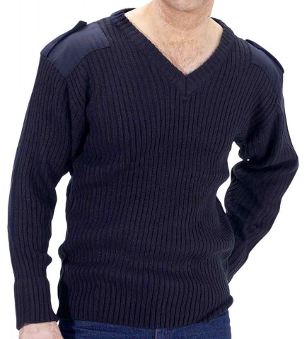 Click AMOD Military Style Security Sweater