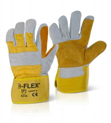 Click CANDPP Gold Double Palm Heavy Duty Riggers